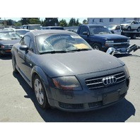 2003 Audi TT 180hp automatic grey damaged left side for parts
