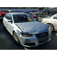 2007 Audi A3 silver 2.0 automatic damaged right front for parts