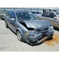 2004 Audi A6 Allroad grey 2.7 automatic front damage for parts