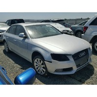 2009 Audi A4 quattro silver suspension damage for parts