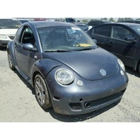 2003 Volkswagen Beetle Turbo S grey theft recovery for parts