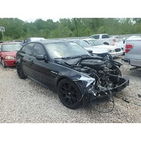 2008 Bmw M3 4 door black sedan 6 speed damaged front for parts