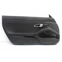 2014 Porsche Boxster S 981 3.4 Front Left Driver Door Panel 981555203