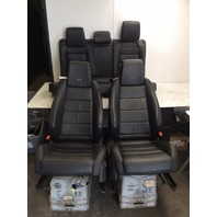 2013 Volkswagen Golf R 4 door seat set front rear seats cushions
