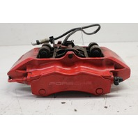 2006 Porsche 911 997 Carrera 2 S Left Rear Brake Caliper Brembo Red 996352425