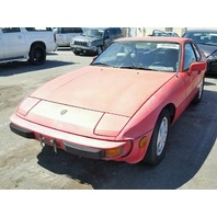 1987 Porsche 924 S red for parts