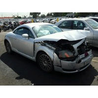 2000 Audi TT 1.8t silver front damage for parts
