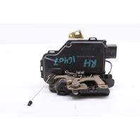 Passenger Side Door Lock Actuator 2000 Audi TT Non Quattro Coupe Base 1.8t Gas