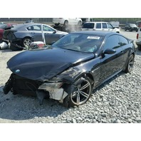 2006 Bmw M6 black coupe damaged front for parts