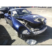 2006 Porsche Boxster S 3.2 blue damaged front for parts