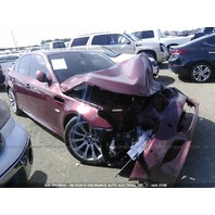 2006 BMW M5 red 15k miles damaged front for parts