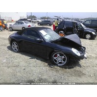 2006 Porsche 911 997 Cabriolet 3.8 black damaged front for parts
