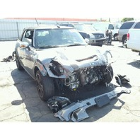 2010 Mini Cooper S convertible grey damaged front for parts
