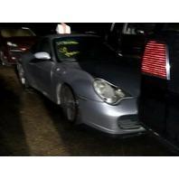 2003 Porsche 911 C4S coupe silver flood damage for parts