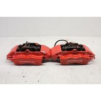 2002 2003 2004 Porsche 911 996 C4S rear brake caliper pair red brembo
