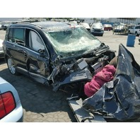 2012 Volkswagen Tiguan black damaged front for parts