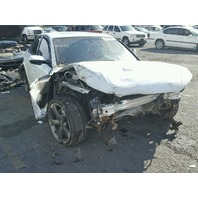 2015 Audi A4 2.0t white damaged front for parts