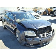 2005 Audi A8L blue damaged front for parts