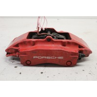 2001 Porsche Boxster S 986 3.2 Left Rear Brake Caliper Brembo Red 996352421