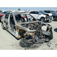 2012 Bmw 528I interior engine fire for parts