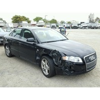 2006 Audi A4 3.2 6 speed damaged right front for parts