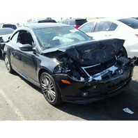 2011 Volkswagen Eos 2.0 automatic black damaged front for parts