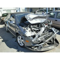 2009 Volkswagen Jetta grey damaged front for parts
