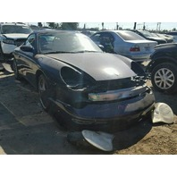 2003 Porsche 911 Cabriolet damage front and rear for parts