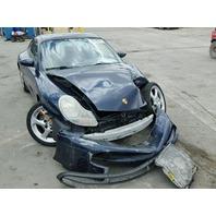 1999 Porsche 911 Coupe blue damaged front for parts