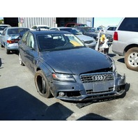 2009 Audi A4 quattro sedan grey automatic roll over damage for parts