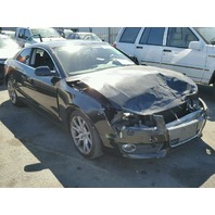 2010 Audi A5 couple black 2.0t 6 speed front damage for parts
