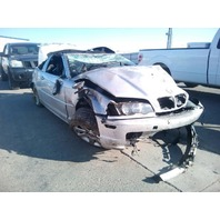 2001 Bmw 325Ci silver roll over damage for parts