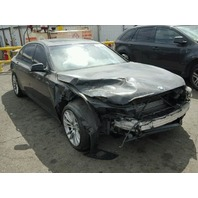 2010 Bmw 750LI black damaged front and rear for parts
