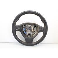 Leather Multifunction Steering Wheel 2010 Bmw 750Li Sedan F01 4-Door 4.4 V8 Gas Turbo - STEERING WHEEL