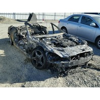 2009 Mercedes SL550 burn for parts