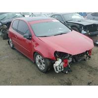 2006 Volkswagen Gti 2 door red damaged front for parts