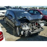 2006 Volkswagen Gti 2 door black damaged front for parts