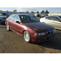 2001 Bmw 525I red automatic damaged rear for parts