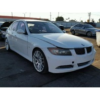 2006 Bmw 330I 4 door white engine fire for parts