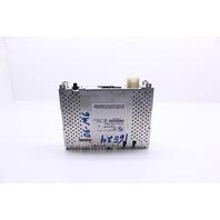 2006 BMW M6 Coupe E63 Satellite Radio Tuner Control Module 65129113833