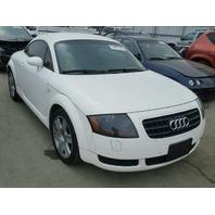 2004 Audi TT white 1.8t for parts