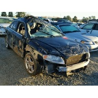 2006 Audi A4 black roll over damage for parts
