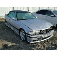 1999 Bmw M3 convertible silver damaged front for parts