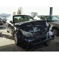 2005 Bmw 545I black damaged front for parts