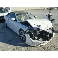 2004 Bmw 645CI white damaged front for parts
