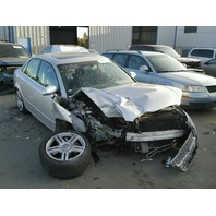 2006 Audi A4 3.2 silver damaged front for parts