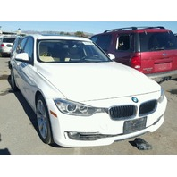2013 Bmw 335I white for parts