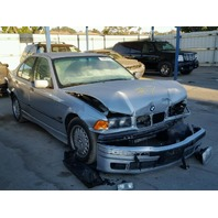 1996 Bmw 328I Silver Damaged Front