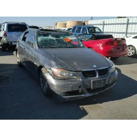 2007 Bmw 328I Grey 4 Door Roll Over Damage