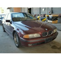 2000 Bmw 540I Burgundy 4 Door Mechanical Damage
